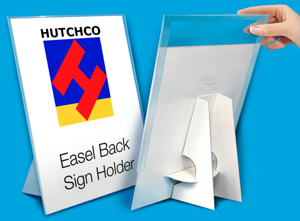 Easel Back Sign Holder Displays – HUTCHCO DISPLAYS