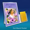 Easel Back Sign Holder Display with Pockets – HUTCHCO