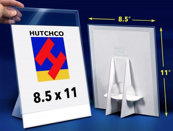 8.5 x 11 Easel Back Sign Holder Hutchco POP Display
